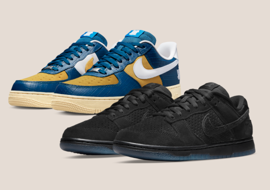 """UNDEFEATED's Second Nike Dunk vs. AF-1 """"5 On It"""" Capsule Releases Globally Soon"""