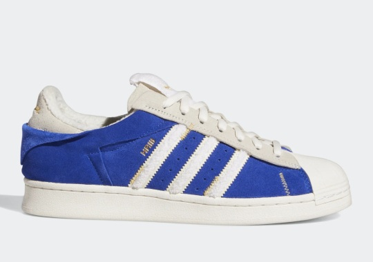 """Las Vegas Raiders' Henry Ruggs Gives The adidas Superstar A """"Bold Blue"""" Makeover"""
