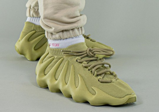 """First Look At The adidas YEEZY 450 """"Dark Sulfur"""""""