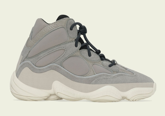 """adidas Yeezy 500 High """"Mist Stone"""" Releasing On October 11th"""