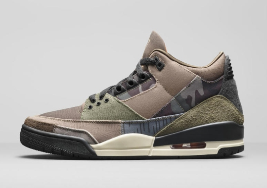 Jordan Brand's Winter 2021 Retro Collection Includes An Air Jordan 3 In Mismatched Camos