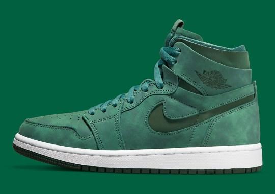 This Air Jordan 1 Zoom CMFT Goes All-In On Green