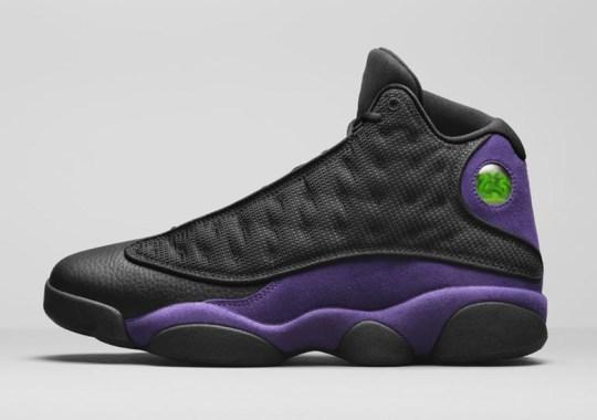 "Air Jordan 13 ""Court Purple"" Releasing On December 29th"