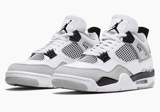 """The Air Jordan 4 To Release In """"Military Black"""" Come Summer 2022"""