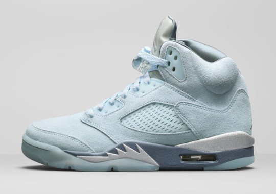 "The Women's Exclusive Air Jordan 5 ""Blue Bird"" Lands This Holiday Season"