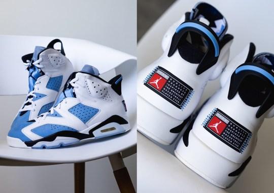 "First Look At The Air Jordan 6 ""UNC"""
