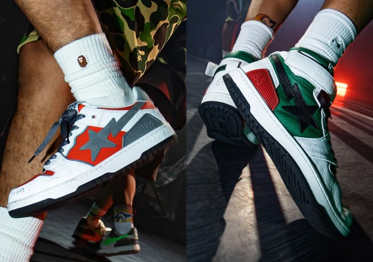 """The BAPE SK8 STA Mixes Luxury And Street With The """"Hybrid Forces"""" Pack"""