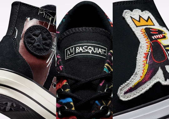 Converse Translates The Work Of Basquiat To The Skidgrip And Chuck Taylor