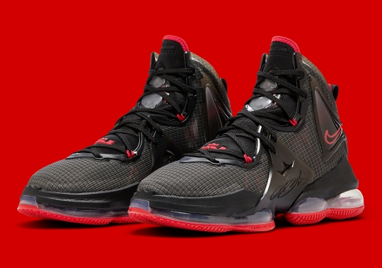 """The Nike LeBron 19 """"Bred"""" Releases On October 22nd"""