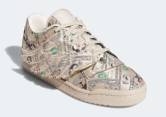 Jeremy Scott And adidas Bring Money And Wings To The Forum 84 Low ADV