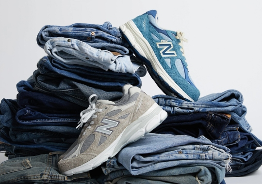 Levi's And New Balance Collaborate On The 990v3 In Its Two Signature Colorways