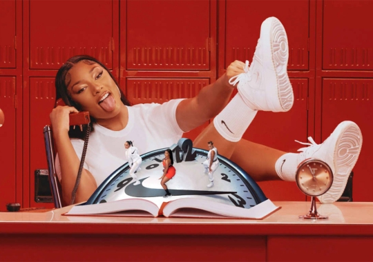 Megan Thee Stallion Gets Her Own Nike Spot; Signature Shoe Coming?