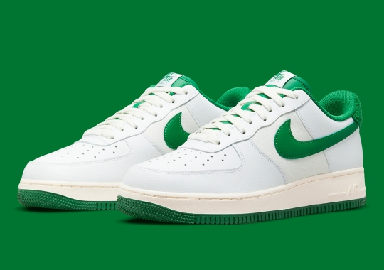 This Two-Tone Nike Air Force 1 Low Pairs Well With A Varsity Jacket