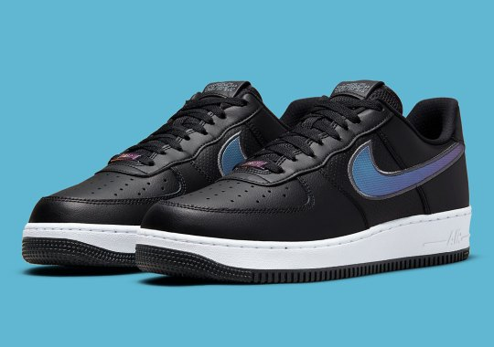 Micro-Dot Textures Appear On This Upcoming HTML-Themed Nike Air Force 1 Low