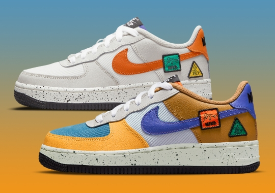 Nike Drops A Pair Of ACG-Inspired Air Force 1s For Kids