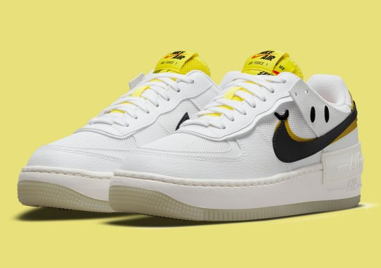 """The Nike Air Force 1 Shadow Is Next To """"Go The Extra Smile"""""""