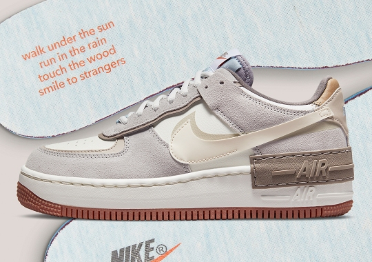 Nike Adds A Poetic Message To This Woodsy Air Force 1 Shadow