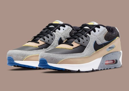 """The """"Alter And Reveal"""" Nike Air Max 90 GS Is A Reminder To Go Wear Your Shoes"""