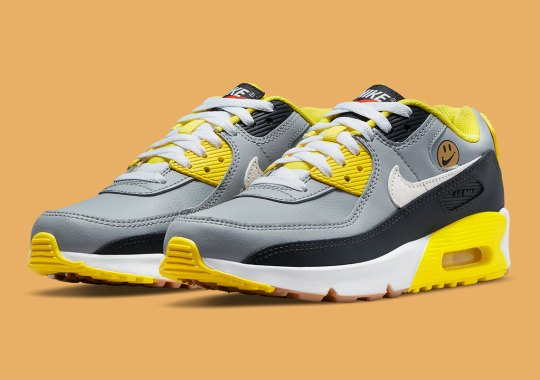 """Nike's """"Go The Extra Smile"""" Pack Includes This Kids Only Air Max 90"""