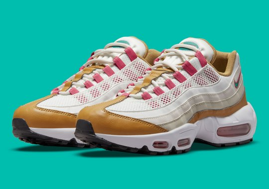 """Nike Remembers The Iconic Air Max 1 """"BRS"""" From The Powerwall Collection On The Air Max 95"""