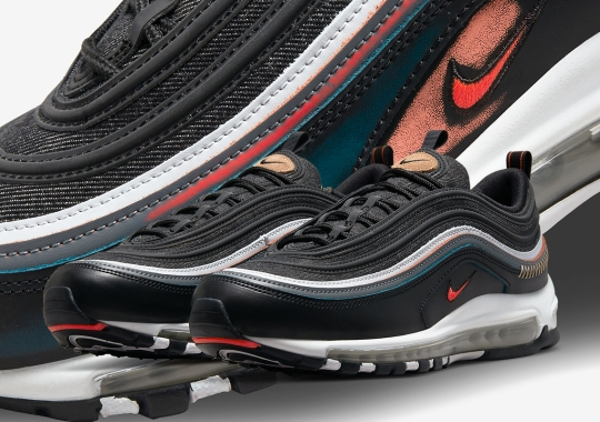 """The Nike Air Max 97 Adds Wear-Away Uppers To The """"Alter And Reveal"""" Collection"""