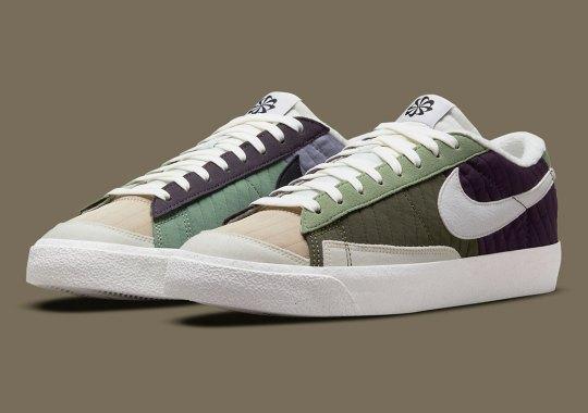 "The Nike Blazer Low '77 Gets Toasty In ""Medium Olive"""