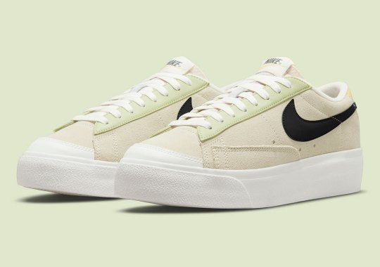 Reflective Swooshes Are Emblazoned Across This Nike Blazer Low Platform