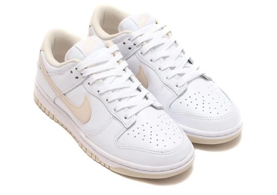 The Nike Dunk Low Prepares A Pearly White Women's Exclusive