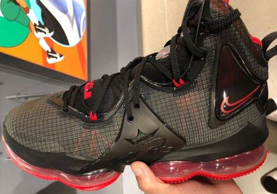 "Nike LeBron 19 ""Bred"" Revealed"
