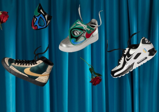 Nike Crafts Footwear And Apparel Fit For The Colorful World Of Lucha Libre