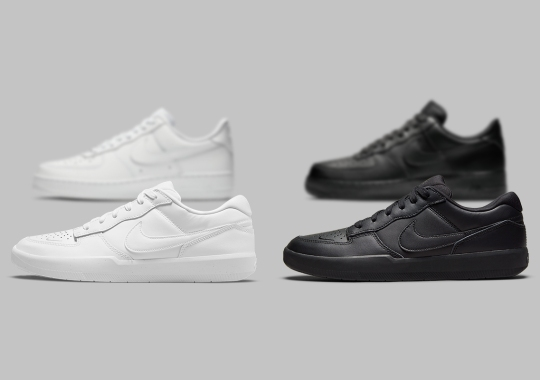 Classic All-White And All Black Appear On The Nike SB Force 58 Premium