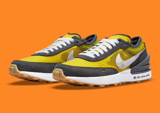"""The Nike Waffle One Is Joining The """"Go The Extra Smile"""" Pack"""