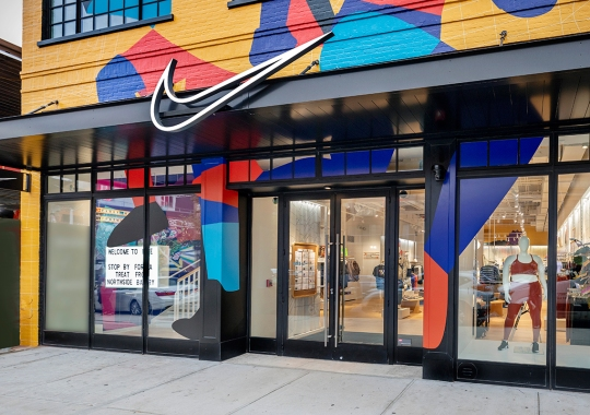 Nike By Williamsburg Is The Brand's Latest Retail Expression