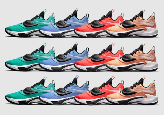 The Nike Zoom Freak 3 TB Brings In Primary Color Options