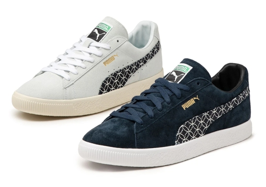 """The New Puma Suede Vintage """"Made In Japan"""" Pays Homage To The Art Of Sashiko"""