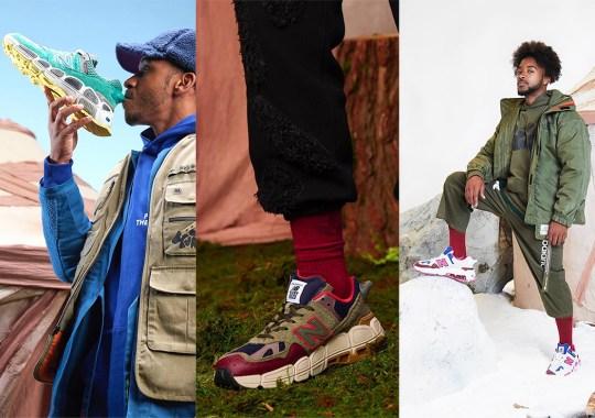 "Salehe Bembury And New Balance Unveil Their Collaborative ""Universal Communication"" Pack"