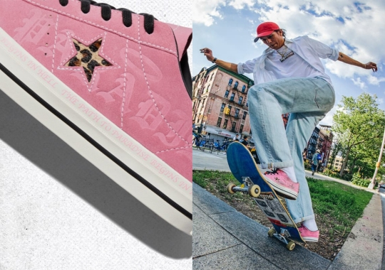 Skateboarder Sean Pablo Adds Hand-Drawn Graphics Onto The Converse One Star Pro