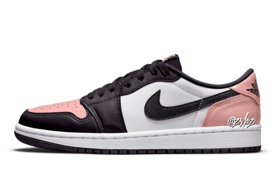"""The Air Jordan 1 Low OG Prepares A """"Bleached Coral"""" Look For Summer 2022"""