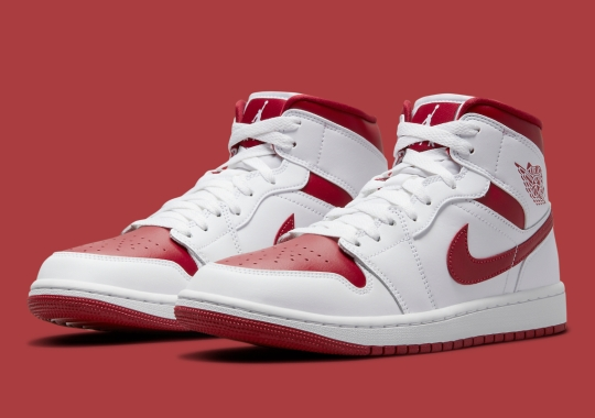 """A """"Reverse Chicago"""" Colorway Lands On The Air Jordan 1 Mid"""