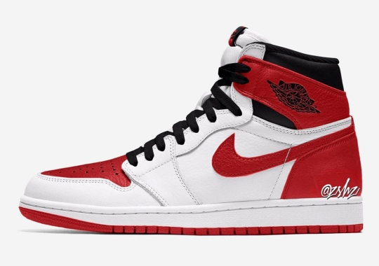 """The Air Jordan 1 Flips The Iconic """"Chicago"""" Colorway; Releases April 2022"""
