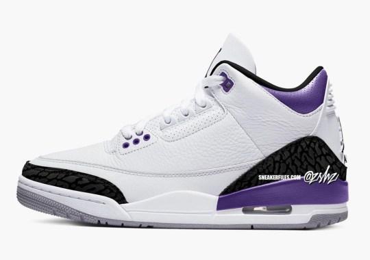 "The Air Jordan 3 To Release In ""Dark Iris"" Come Summer 2022"