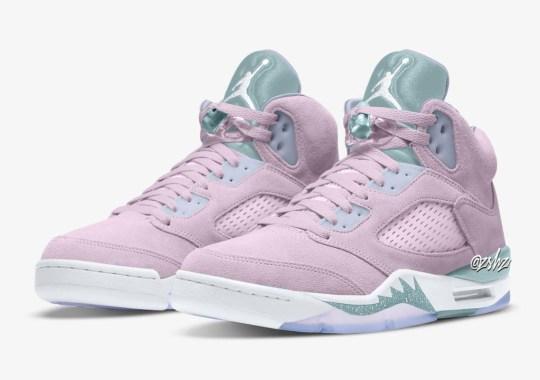 """An Air Jordan 5 """"Regal Pink"""" Expected April 2022"""