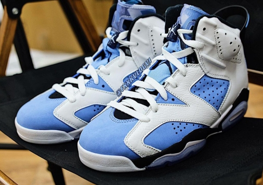 """The Air Jordan 6 """"UNC"""" Is Already One Of 2022's Most Anticipated Jordan Releases"""