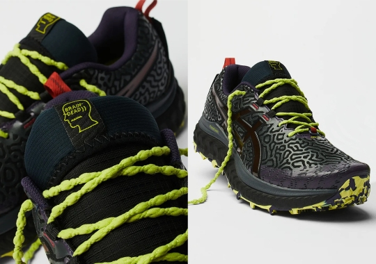 The Brain Dead x ASICS Trabuco Max Is A Frightening Nightmare Turned Trail Shoe
