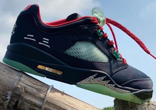 First Look At The CLOT x Air Jordan 5 Low