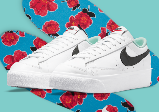 The Nike Blazer Low Platform Reappears With Floral Detailing