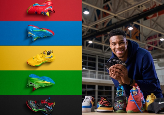 Giannis Antetokounmpo Teams Up With Nike To Celebrate 50 Years Of UNO
