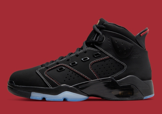 The Jordan 6-17-23 Adds A Single Red Thread To Its Contrast Stitching