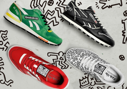 Reebok Celebrates Keith Haring's Legacy With A Quartet Of Artwork-Dressed Releases