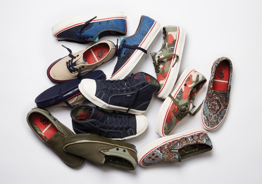 Nigel Cabourn Teams Up With Vault By Vans For 6 Vintage-Inspired Offerings